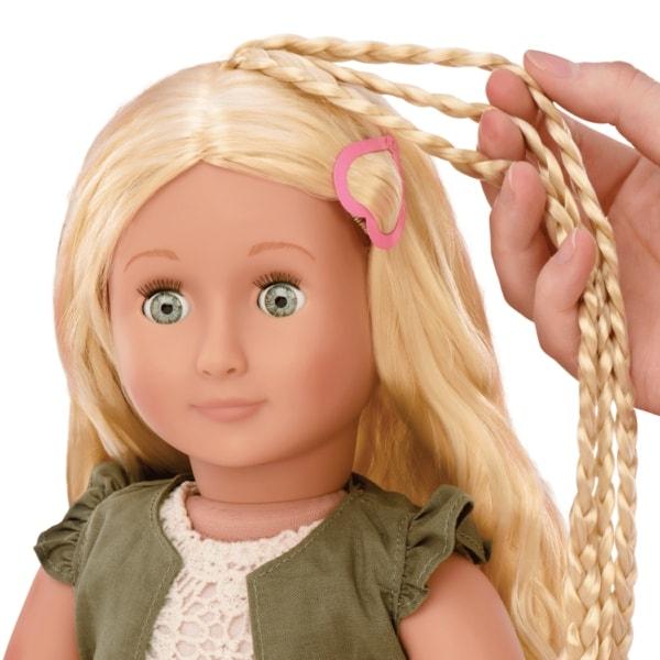 Пиа с длинными волосами
