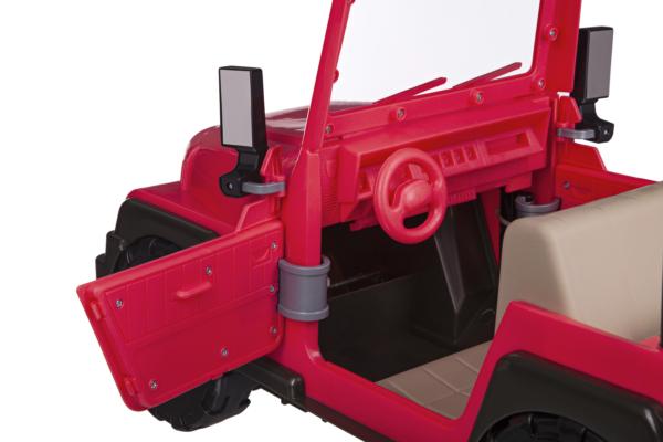 Розовый джип