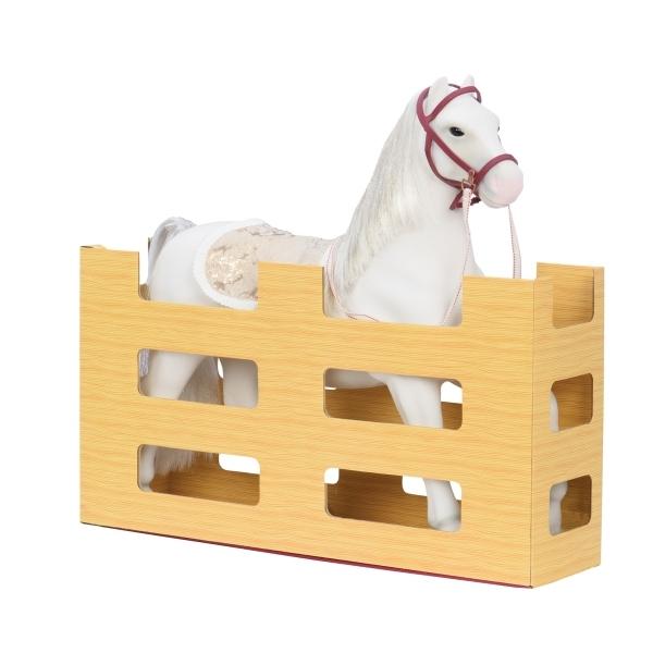 Лошадь с аксессуарами