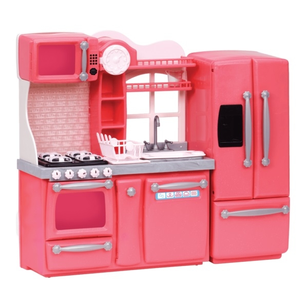 Кухня для гурманів рожева