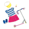 Deluxe outfit with scooter and accessories