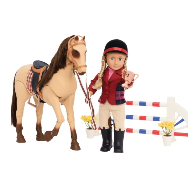 For horse riding