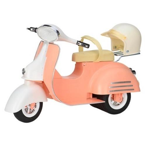 Скутер бежевый