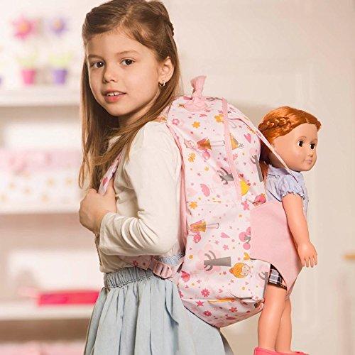 Рюкзак рожевий