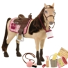The Morse Horse with accessories