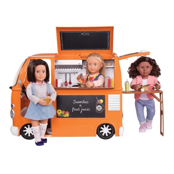 Our Generation Транспорт для кукол Продуктовый фургон