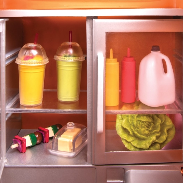 Our Generation Food Truck accessory set