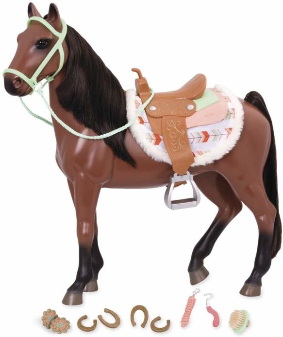 Our Generation Ігрова фігура Кінь Кавалло з аксесуарами, 50 см