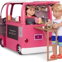Our Generation Транспорт для кукол — Продуктовый фургон (розовый)