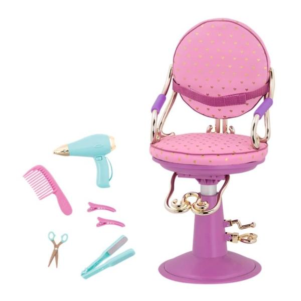 Our Generation Набір аксесуарів – Крісло для салону фіолетове